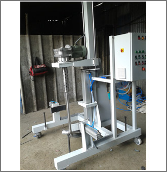 Pneumatic Liquid Blending Machines